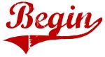 Begin (red vintage)