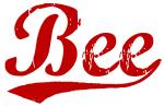 Bee (red vintage)