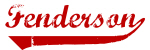 Fenderson (red vintage)