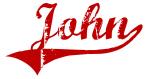 John (red vintage)