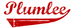 Plumlee (red vintage)