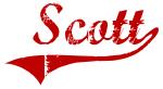 Scott (red vintage)