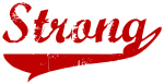 Strong (red vintage)