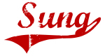Sung (red vintage)