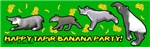 Mary Beaird's Happy Tapir Banana Party!