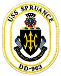 USS Spruance DD-963 Navy Ship