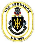 USS Spruance DD-963 Navy Ship