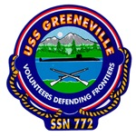 USS Greenville SSN 772 Navy Ship