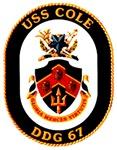 USS Cole DDG-67 Navy Ship