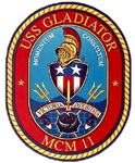 USS Gladiator MCM 11 US Navy Ship