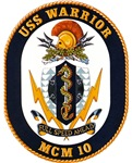 USS Warrior MCM 10 US Navy Ship