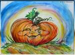 Jack O Lantern, Pumpkin