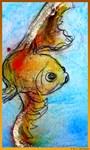 Gold fish, art