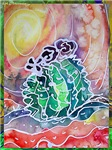 Cactus, southwest art,