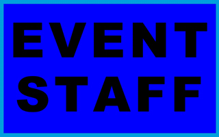 EVENT STAFF T-SHIRTS & GIFTS