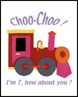 CHOO-CHOO TRAIN TEES