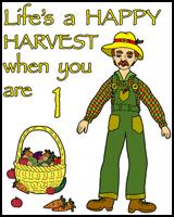 1st BIRTHDAY T-SHIRTS FARMER