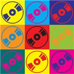Audio and Video Pop Art