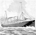 Vintage Steamship