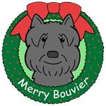Bouvier Des Flandres Christmas Ornaments