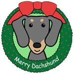 Dachshund Christmas Ornaments