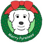 Great Pyrenees Christmas Ornaments