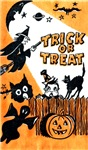 Vintage Trick or Treat Image #5
