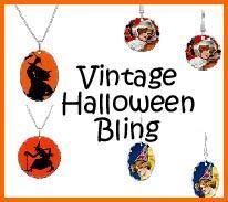 Vintage Style Halloween Jewelry