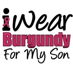 I Wear Burgundy For My Son T-Shirts & Gifts
