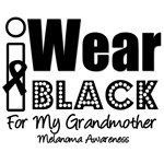 I Wear Black Ribbon For My Grandmother T-Shirts