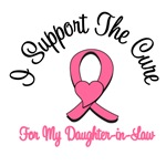 I Support The Cure For My Daughter-in-Law T-Shirts