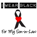 I Wear Black Ribbon For My Son-In-Law T-Shirts
