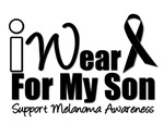 I Wear Black Ribbon For My Son T-Shirts & Gifts