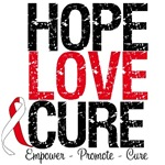 Hope Love Cure Oral Cancer T-Shirts & Gifts