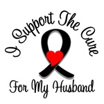 I Support The Cure Melanoma Husband Shirts & Gifts