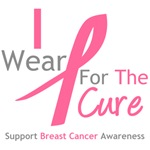 I Wear Pink For The Cure Shirts, Tees & Gifts