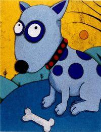 Deana Riddle's Blue Dog