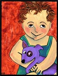 Deana Riddle's Girl & Her Dog