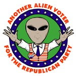 Another Alien Voter For The Republican Party