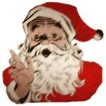 Santa Face Sketch
