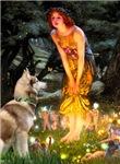 MIDSUMMER'S EVE<br>& Siberian Husky(RED)