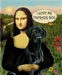 MONA LISA<br>& Her Labrador Therapy Dog