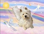 ANGEL IN CLOUDS<br>& West Highland Terrier#6