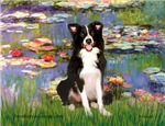 LILIES<br>& Border Collie