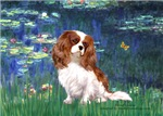 LILY POND (#5)<br>& Cavalier King Charles Spaniel