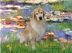 LILIES (#2)<br>& Golden Retriever