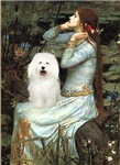 OPHELIA SEATED<br>& Bolognese