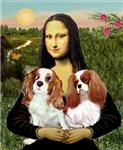MONA LISA<br>(With 2 Blenheim Cavaliers