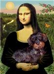 MONA LISA<br>& Wire Haired Dachshund