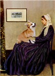 WHISTLER'S MOTHER<br>& Pembroke Welsh Corgi